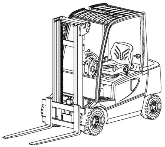 Jungheinrich EFG-V16(L) DC, EFG-V18(L) DC, EFG-V20DC Electric ForkLift Truck Workshop Service Manual