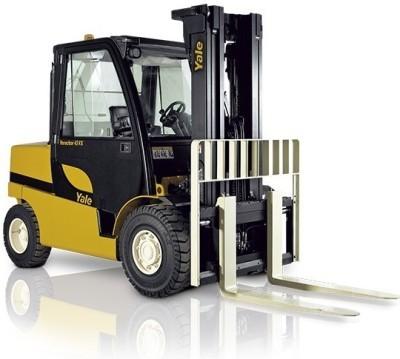 Yale GLP/GDP 40VX5/40VX6/45SVX5/45VX6/50VX/55VX LPG/DSL Forklift Truck F813 Series Parts Manual (EU)