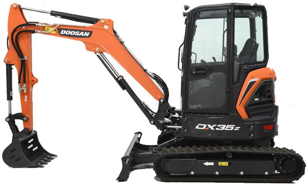 Doosan DX35Z (SN. from 5001) Excavator Workshop Service Manual