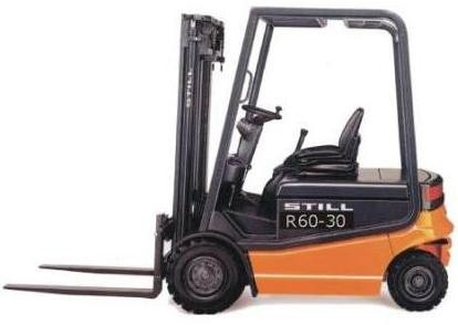 Still Electric Forklift Truck R60-30, R60-35, R60-40, R60-45, R60-50: R6026-R6029 Spare Parts List