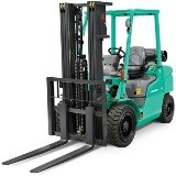 Mitsubishi FD40N, FD45N, FD50(C)N, FD55N, FG40N, FG45N, FG50N, FG55N Forklift Truck Operating Manual