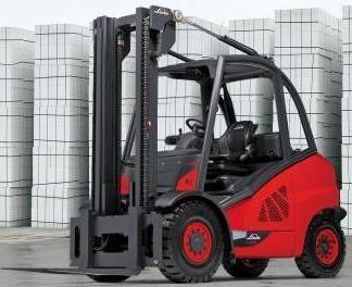 Linde H40D, H45D, H50D Diesel Forklift Truck 394 Series Operating Instructions (User Manual)