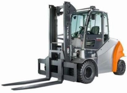 Still RX60-60, RX60-70, RX60-80 Electric Forklift Truck Series 6341, 6342, 6343, 6344 Parts Manual