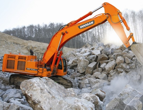 Doosan DX700LC (SN. from 5001) Crawler Excavator Workshop Service Manual