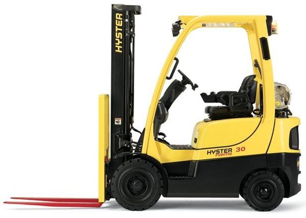 Hyster S30FT, S35FT, S40FTS Forklift Truck E010 series Workshop Service Manual