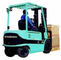 Mitsubishi FB20K, FB25K, FB30K, FB35K Electric Forklift Truck Workshop Service Manual