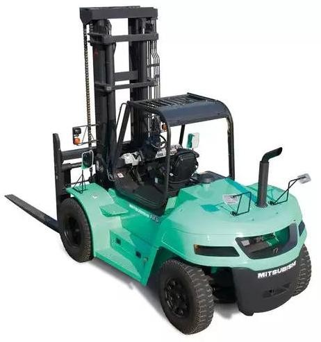 Mitsubishi FD100NM1(S), FD120NM1(S), FD135NM1(S),FD150ANM1(S) Diesel Forklift Truck Operating Manual