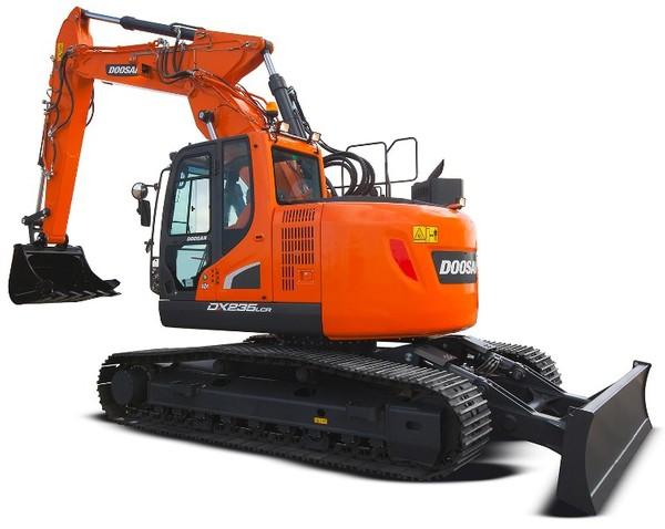 Doosan DX235LCR (SN. from 5001) Crawler Excavator Workshop Service Manual