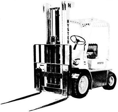 Hyster H30H, H40H, H50H, H60H Diesel/LPG Forklift Truck D003 Series Spare Parts List