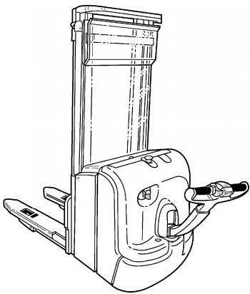 Linde L14, L14AP, L16, L16AP Pallet Stacker (SN. U02716-) 372 Series Operating Instructions, Manual