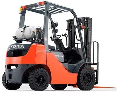 Toyota 8FG10,8FG15,8FG18,8FG20,8FG25,8FG30, 8FGJ35, 8FGK20,-25,-30 LPG Forklift Truck Service Manual