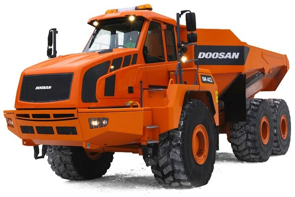 Doosan DA40 Articulated Dump Truck Workshop Service Manual