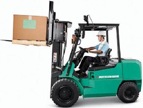 Mitsubishi FD20HS, FD25HS, FD30HS, FG20S, FD25S, FG30S Forklift Truck Operating, Maintenance Manual