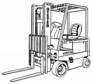 Hyster E25XL, E30XL, E35XL (E1.25XL, E1.50XL, E1.75XL) Forklift Truck C114 Series Spare Parts Manual