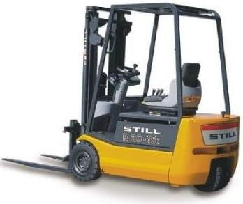 Still R20-15i Electric ForkLift Truck Series 2015 Spare Parts Manual