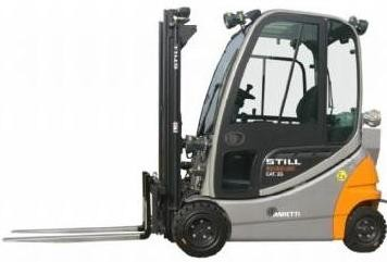 Still RX60-16, RX60-18, RX60-20 Electric ForkLift Truck Series R6311, R6313,R6315 Spare Parts Manual