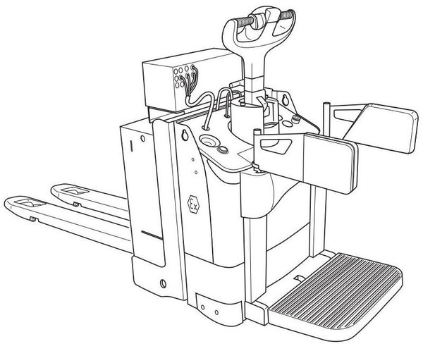 Linde T20AP Explosion Protected Pallet Truck 141 series Operating Instructions (User Manual)