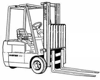 Hyster J30XMT, J35XMT, J40XMT Electric Forklift Truck C160 Series Spare Parts Manual
