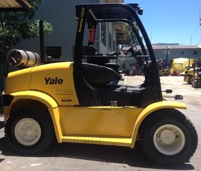 Yale GDP135VX, GLP135VX, GP135VX, GDP155VX, GLP155VX, GP155VX Forklift Truck D878 Ser.Service Manual