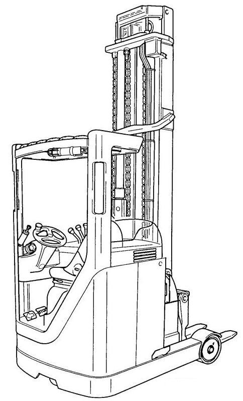 Linde R14, R16, R20 Electric Explosion Protected Reach Truck 113 Series Service Training Manual