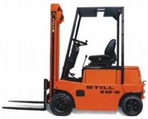 Still R60-16, R60-18 Electric Forklift Truck Series 6010, 6021 Spare Parts List