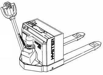 Hyster W45XT Electric Walkie A215 Series Spare Parts Manual