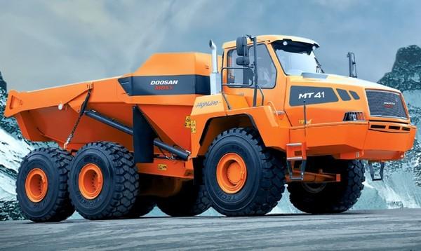 Doosan / Moxy MT41 Articulated Dump Truck Workshop Service Manual