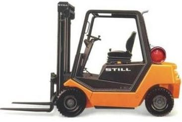 Still R70-20T, R70-25T, R70-30T LPG Forklift Truck Series R7068, R7069, R7070 Spare Parts Manual