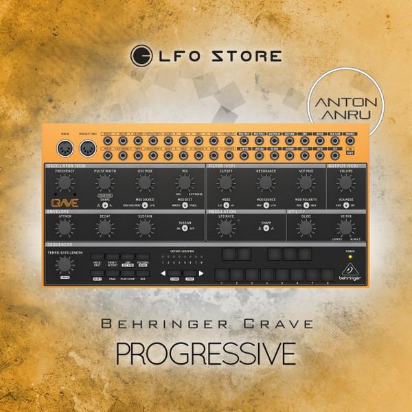 Behringer Crave - Progressive (35 Advanced Patches)