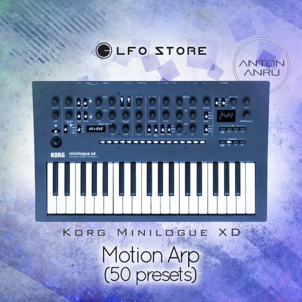 Korg Minilogue XD - Motion Arp (50 presets by Anton Anru)