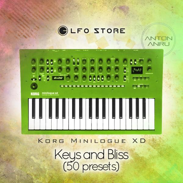 Korg Minilogue XD - Keys and Bliss (50 presets by Anton Anru)