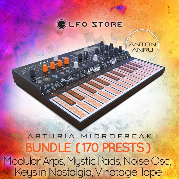 Arturia Microfreak Bundle: Modular Arps, Mystic Pads, Keys in Nostalgia (170 Total)