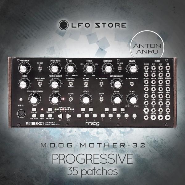 Moog Mother-32 - Progressive (35 Advanced Patches)