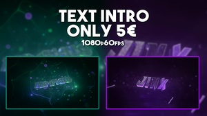 TEXT INTRO // 1080p60fps - 5 €