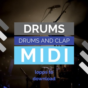 Drum midi files to download - drums and clap sound
