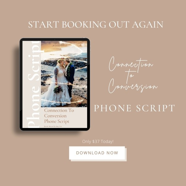 6-Figure Wedding Sales Script
