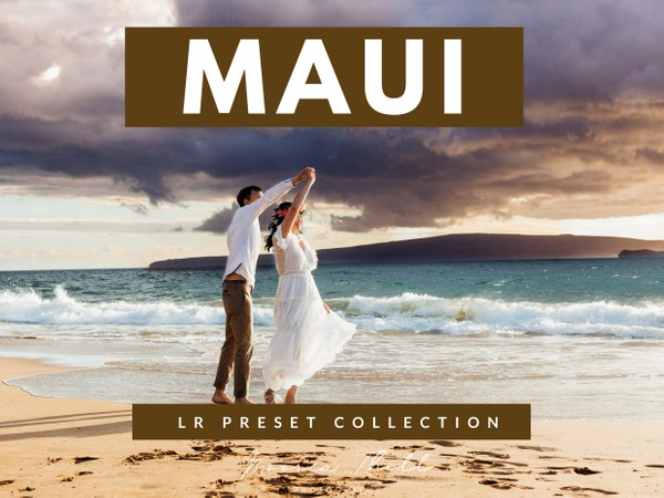 Maui Vibe Lightroom Preset Collection (Desktop + Mobile)