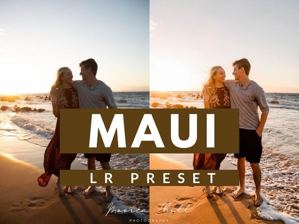 Maui Vibe Mobile + Desktop Lightroom  Preset