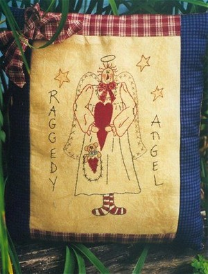 #326 Raggedy Angel E Pattern