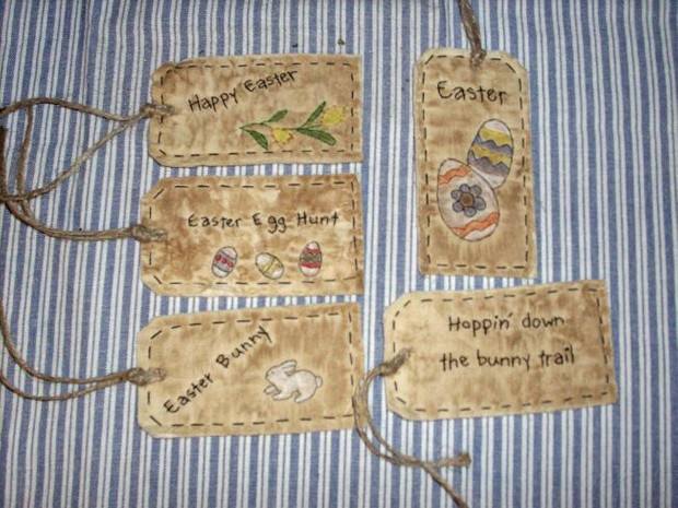 #12 Easter Tags E Pattern
