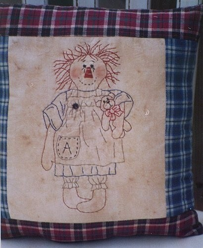 #354 Annie and her Bear E Pattern
