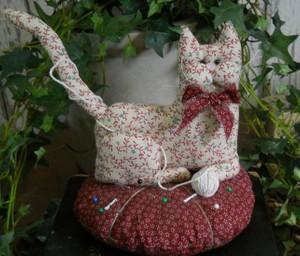 #209 Cat Pin Cushion E Pattern