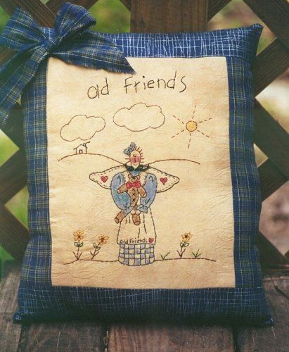 #128 Old Friends e pattern
