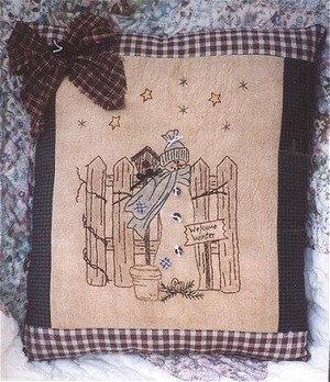 #304 Welcome Winter Snowman e pattern