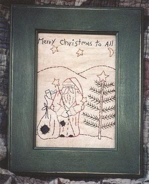 #113 Gingerbread Christmas E Pattern