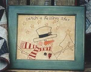 #119 Catch A Falling Star Stitchery