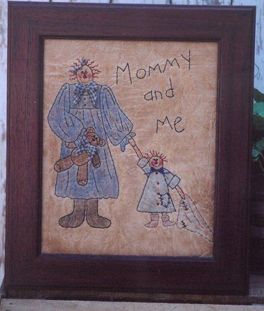 #345 Mommy and Me E Pattern