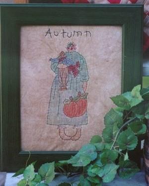 #351 Autumn Annie Stitchery E Pattern