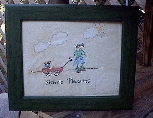 #336 Simple Pleasures E Pattern