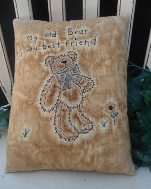 #373 Old Bear Stitchery e pattern